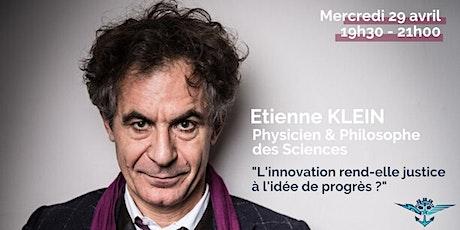 Conférence Etienne Klein billets