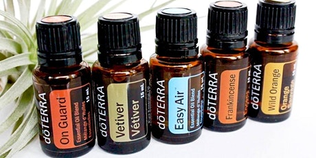 Natural Solutions for Healthy Living  with doTERRRA Essential Oils tickets