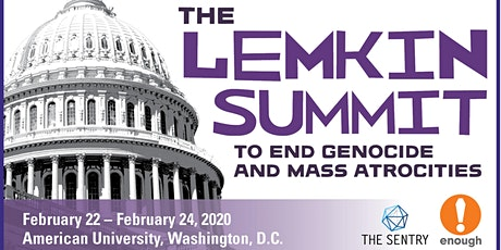 Registration: 2020 Lemkin Summit to End Genocide & Mass Atrocities tickets