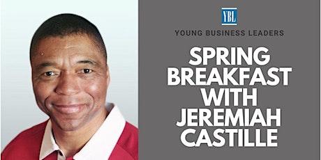 YBL Welcomes Jeremiah Castille billets