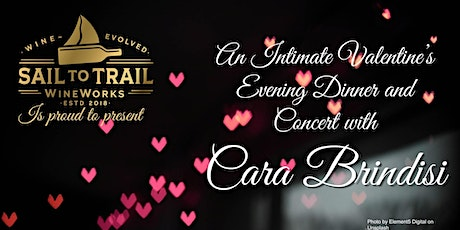 An Intimate Valentine's Dinner with Cara Brindisi tickets