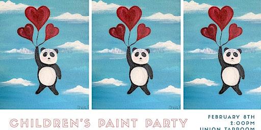 Children's Paint Party
