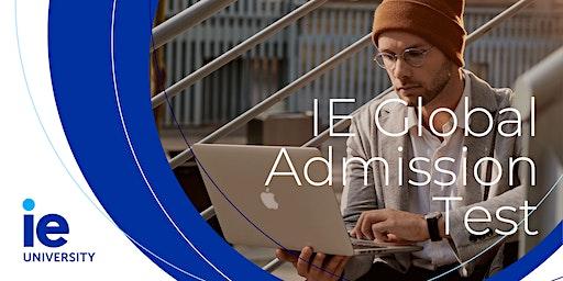 IE Global Admission Test: Master & MBA Programs - Nice