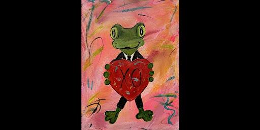 Paint 'N Pajamas XO Frog