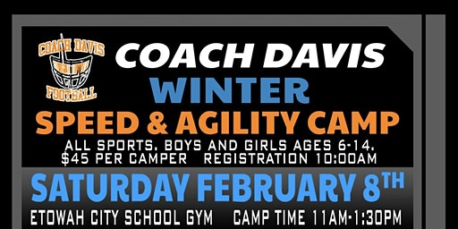 Winter Speed & Agility Camp