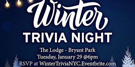 Winter Trivia Night tickets