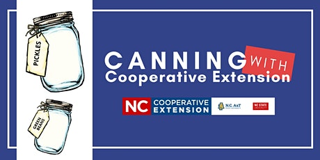Canning With Cooperative Extension - Fermentation tickets