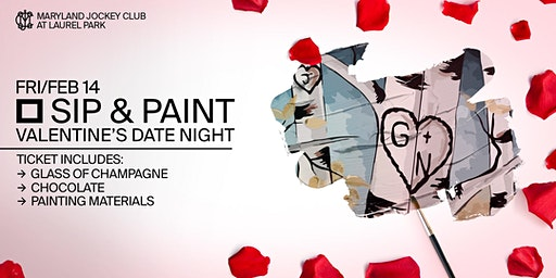 Valentine's Day Sip & Paint Date Night Carved in Love