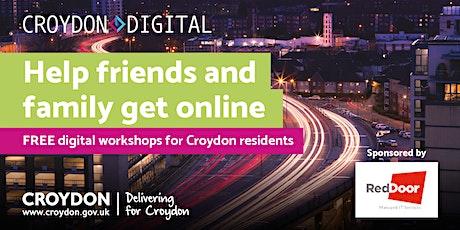 Get Online Digital Workshops - Help Family & Friends Get Online tickets