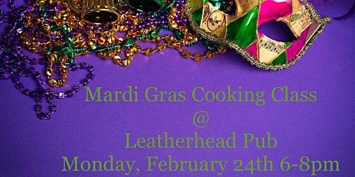 Mardi Gras POP-UP CLASS @ Leatherhead Pub
