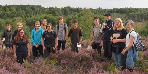 South Downs Youth Action at Pulborough Brooks