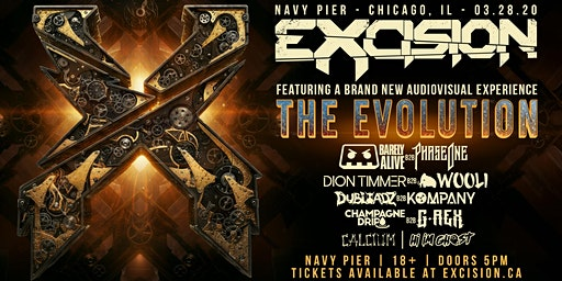 Excision: The Evolution - Navy Pier