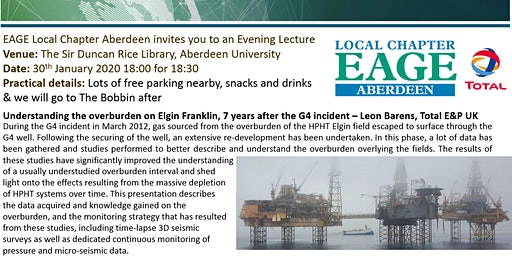EAGE Aberdeen Local Chapter Lecture