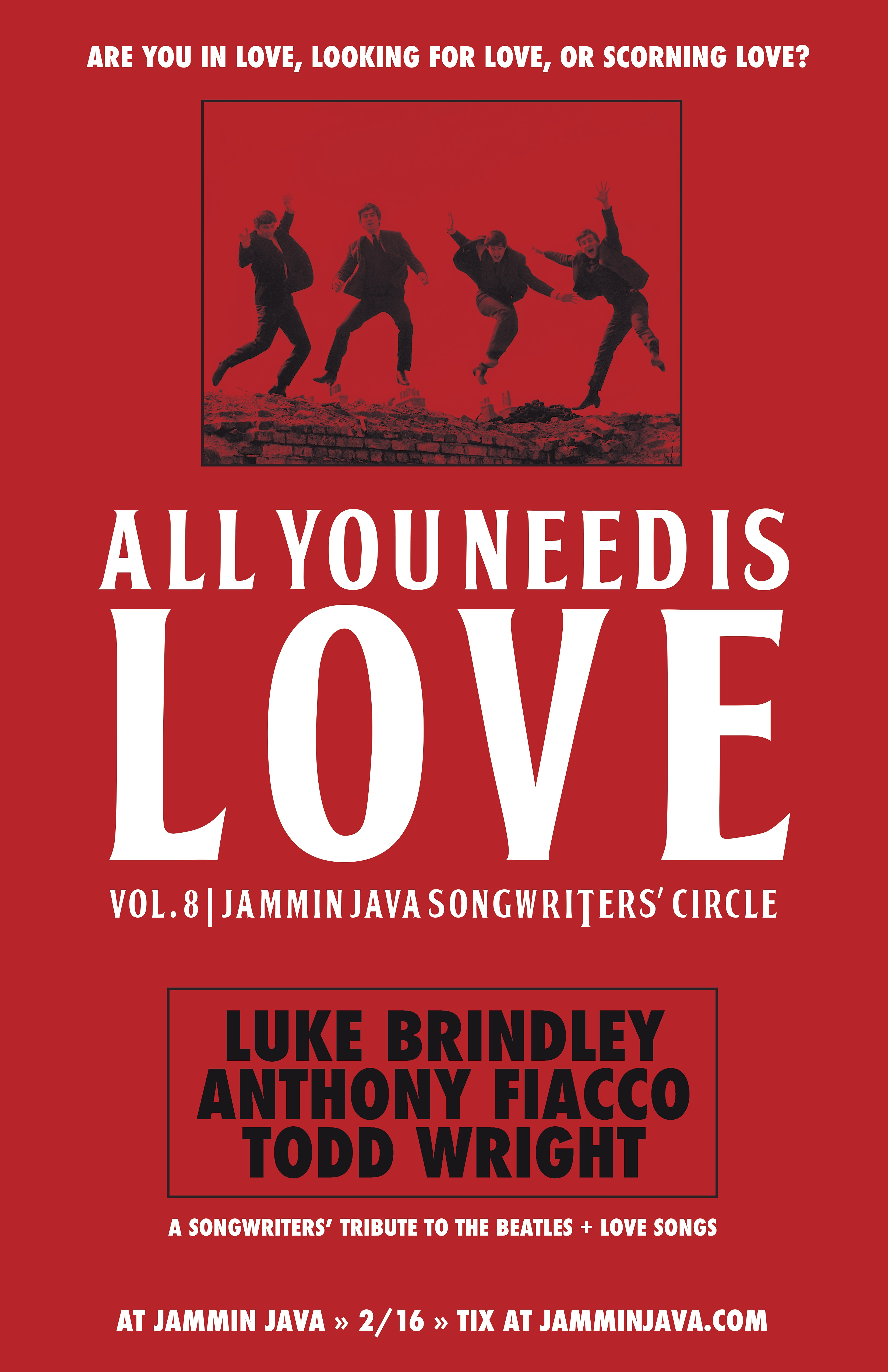 All That Way For Love 2011 all you need is love 8 – jammin java's songwriter circle