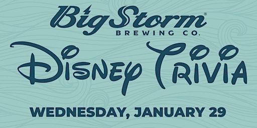 Disney Trivia at Big Storm Pinellas