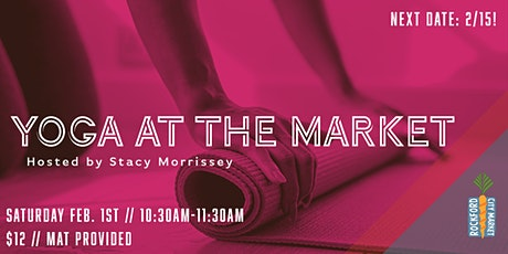 Yoga at the Market tickets