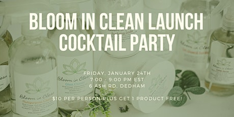Bloom in Clean Launch Cocktail Party tickets