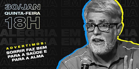 Stand up com Pr. Claudio Duarte ingressos