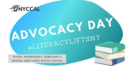 Literacy Lifts NY - Advocacy Day tickets