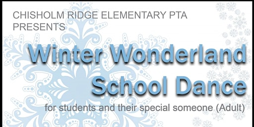 Winter Wonderland School Dance