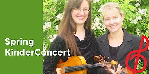Spring KinderConcert: Meet the Violin and Viola