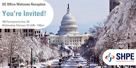 SHPE National DC Office                                   Welcome Reception tickets