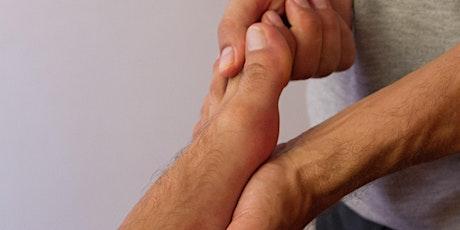 Atelier d'initiation au massage des pieds tickets