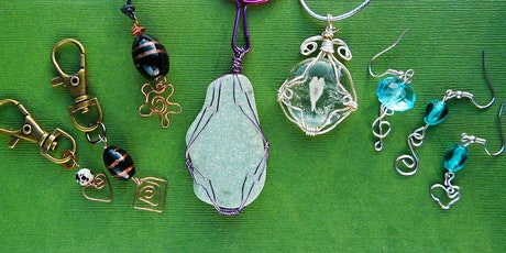 SUSPENDED TIL FURTHER NOTICE Wire Wrapped Pendants (deposit booking)  tickets