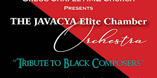 A Tribute to Black Composers: The JAVACYA Elite Chamber Orchestra