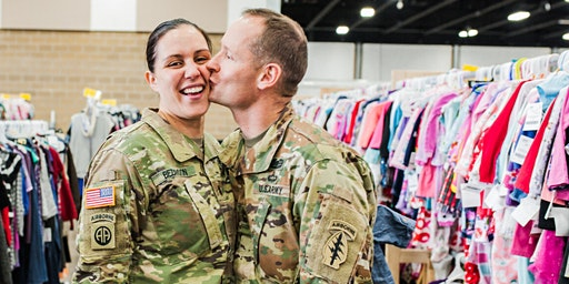 Military Family PreSale Shopping Pass - JBF Sherman/Denison Spring 2020