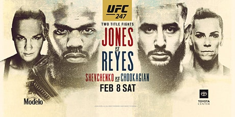 UFC 247: Jones vs. Reyes at Red Bar and Lounge tickets