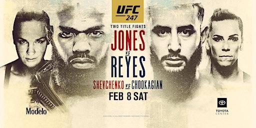 UFC 247: Jones vs. Reyes at Red Bar and Lounge