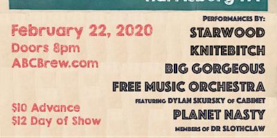 KNITEBITCH, Big Gorgeous, Free Music Orchestra, Planet Nasty & STARWOOD