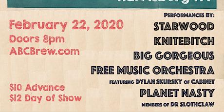 KNITEBITCH, Big Gorgeous, Free Music Orchestra, Planet Nasty & STARWOOD tickets