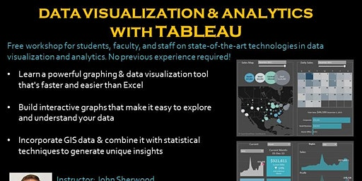 Data Visualization and Analytics with Tableau--evening session