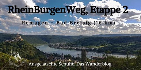 RheinBurgenWeg, Etappe 2: Remagen - Bad Breisig Tickets