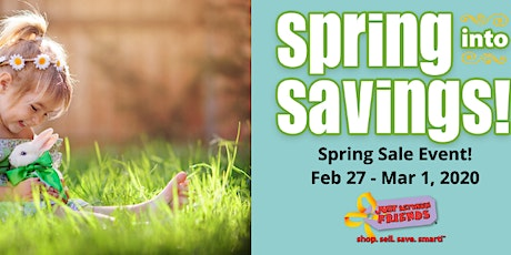 Just Between Friends-South Jacksonville Spring Sale Event! tickets