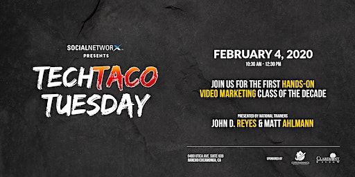 Tech Taco Tuesday with Social NetworX
