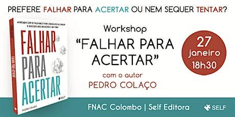 Workshop Gratuito: Falhar para Acertar tickets