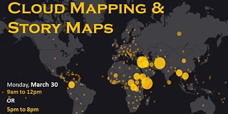 Intro to Cloud Mapping and Story Maps with ArcGIS Online--morning session  tickets