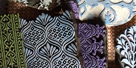 Hand-block Printing with Yateley tickets