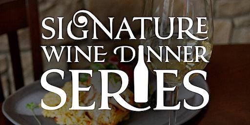 Signature Wine Dinner Series