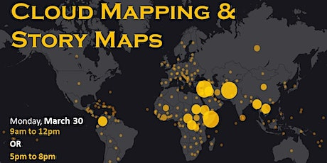 Intro to Cloud Mapping and Story Maps with ArcGIS Online--evening session  tickets