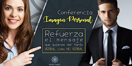 Conferencia Imagen Personal entradas