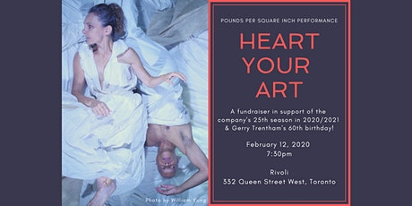 Heart Your Art Party and Fundraiser tickets