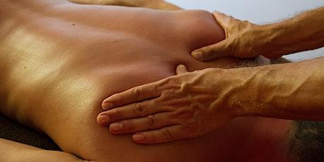 Journée d'initiation au massage du dos billets
