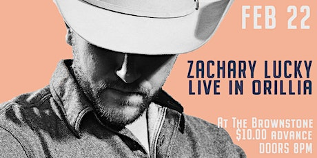 An evening with Zachary Lucky at the Brownstone tickets