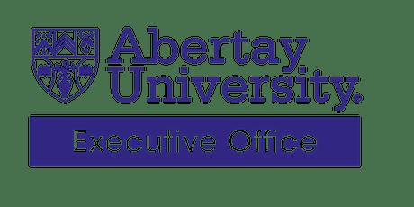 Abertay Staff Digital Strategy Consultation tickets