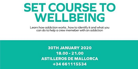 Life Is For Living - Set Course To Wellbeing entradas