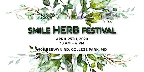 Smile Herb Festival 2020 tickets